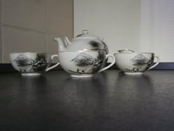 Japán porcelán teáskészlet