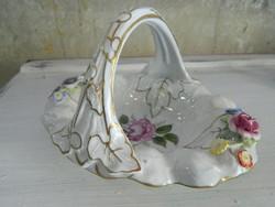 Sorszámozott német porcelán asztalközép / kínáló