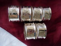 6 db szalvéta gyűrű