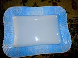 Antik   pecsenyés tál- masszív  vastag porcelán.