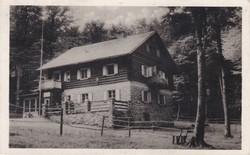 Hörmannforrási Menedékház képeslap