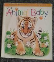 Wild animal baby. Állatos képes és foglalkoztató könyv angolul 2.