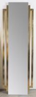 Art deco stílusú fém keretes tükör II.