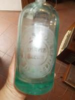 Régi szódásüveg kovács józsef mindszent 1 literes