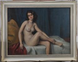 Asztalos Gyula (1900-1972): Fiatal női akt