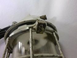 Ipari lámpa,zománc lámpa ,szarvasi lámpa  25.000 forint