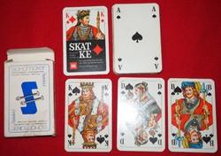 25 pakli Skat-kártya mini-gyűjtemény egyben eladó!