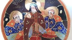 Kézzel festett Kínai tálka