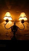 Antik art deco fali lámpa
