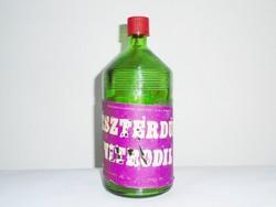 Retro hígítós üveg - Észterdús Nitrodil - Budalakk, Kiskunsági Állami Gazdaság gyártó - 1970-es évek