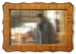 0X202 Antik Biedermeier tükör