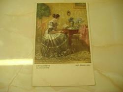 Kedvenc időtöltésem antik képeslap