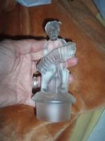 Vintage kristály szobrocska Gobel? Hummel?