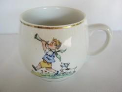 Kispesti porcelán gyerek mese bögre