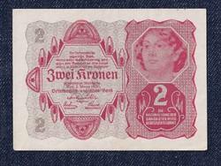 Osztrák 2 korona 1922 hajtatlan (id6559)