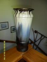 Bod Éva nagy kerámia váza csillámló mázzal