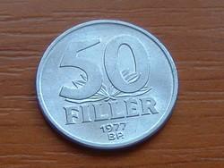 MAGYAR NÉPKÖZTÁRSASÁG 50 FILLÉR 1977