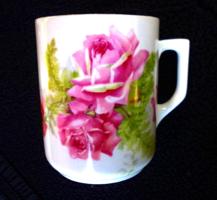 Zsolnay rózsás csésze 246.