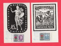 Carte Maximum - Bélyegnap 1971 (006)