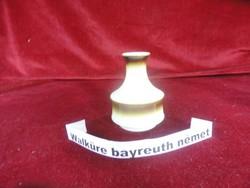 Németh Walküre bayreuth porcelán váza  12 cm magas