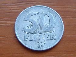 MAGYAR NÉPKÖZTÁRSASÁG 50 FILLÉR 1973