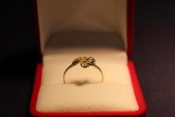 14 Karátos arany gyűrű 1,2 g