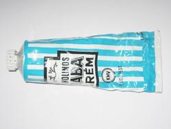 Retro Lanolinos BABA krém fém tubus - KHV - Kozmetikai és Háztartásvegyipari Vállalat - 1970-es évek