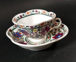 Ritka Fischer Emil kézzel festett csésze