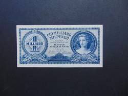 1 milliárd milpengő 1946 Szép ropogós bankjegy  01