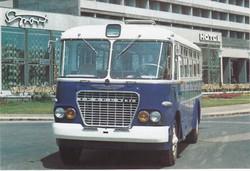 Buszok, villamosok, hévek, metró - 13 db képeslap egyben eladó