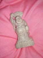Kőből ásványból faragott kis Buddha szobor