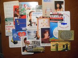 Kártyanaptár csomag ingyen postával