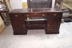 Exkluzív elegáns angol íróasztal