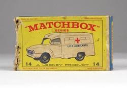 0X322 MATCHBOX Superfast Lomas Ambulance doboz