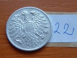 AUSZTRIA OSZTRÁK 1 SCHILLING 1957 ALU. 22.