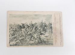 I. Vh. Első világháború hadsegélyező Monarchia Ferenc József honvéd huszárok