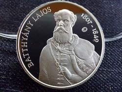 Batthyány Lajos születésének 200. évfordulójára .925 ezüst 5000 Forint 2007 PP BP/id 9416/