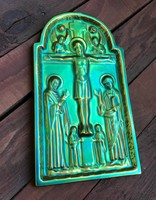 Zsolnay eozin szentkép