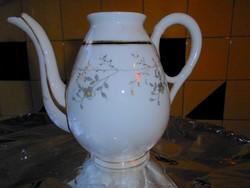 Antik kézzel festett szecessziós  porcelán kancsó