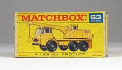 0X321 MATCHBOX Superfast Dodge Crane Truck doboz