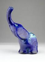 0W661 Morvay Zsuzsa művészi kerámia elefánt
