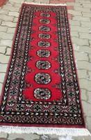 Pakisztáni kézi csomózású szőnyeg 62 x 185 cm