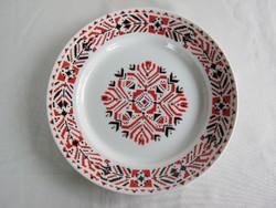 Hollóházi porcelán fali tál dísztányér