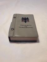 Német katonai kiképzési kézi könyv az 1960-as évekből