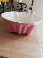 Rózsaszín sütőforma
