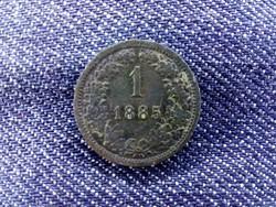 Ferenc József réz 1 Krajcár 1885 KB/id 9389/