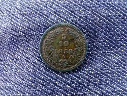 Ausztria Ferenc József 1/2 Krajcár 1858 A/id 9392/