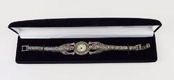 KIVÉTELES ezüst női óra