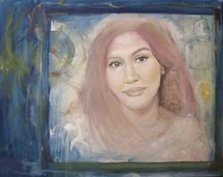 Emlékek ablaka  - Magony Henriett festmény