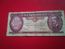 1993-as 100 Forint VISZONYLAG ALACSONY SORSZÁM R!